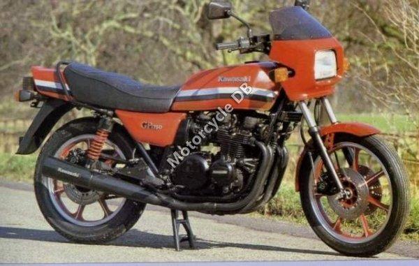 Kawasaki GPZ 1100 1982 1337