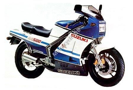 Suzuki RG 500 Gamma 1988 11676