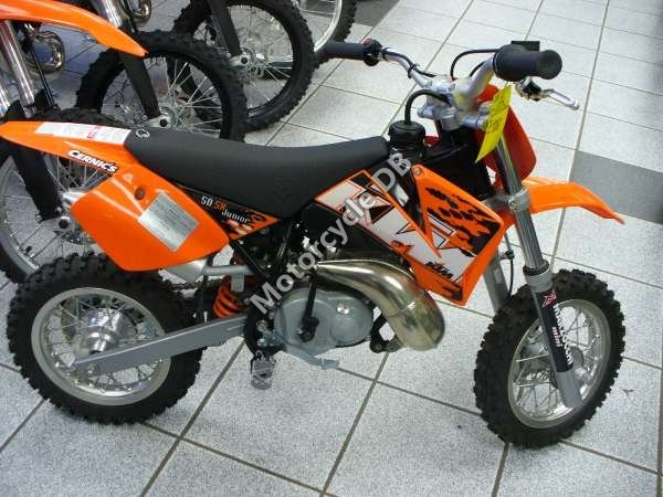 KTM 50 SX - 2008 Specifications, Pictures & Reviews