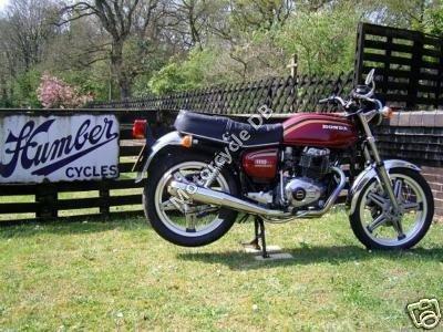 Honda CB 400 T Hondamatic 1981 8348