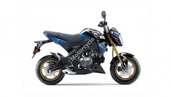 Kawasaki Z125 Pro 2018 24258