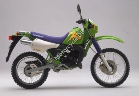 Kawasaki KMX 125 (reduced effect) 1988 15147