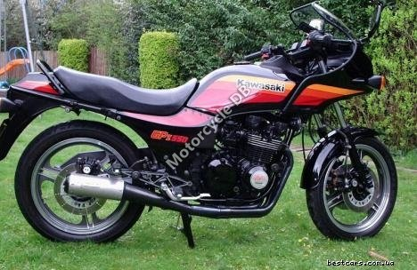 Kawasaki GPZ 550 (reduced effect) 1988 17248