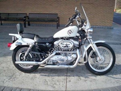 Harley-Davidson XLH Sportster 883 Hugger 1988 12635