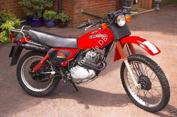 Honda CL 250 S 1982 7938
