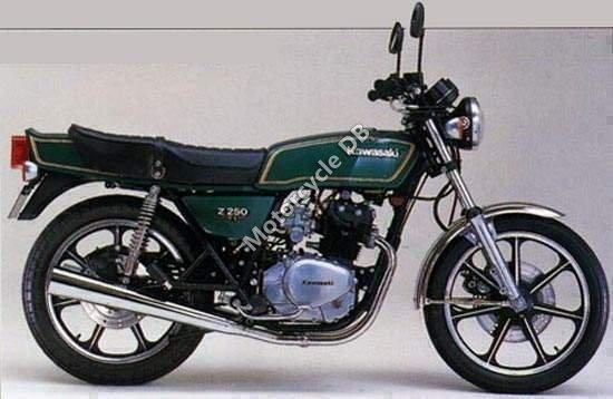 Kawasaki Z 250 A 1980 10490