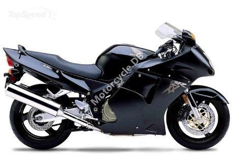 Honda CBR 1100 XX Super Blackbird 2000 9894