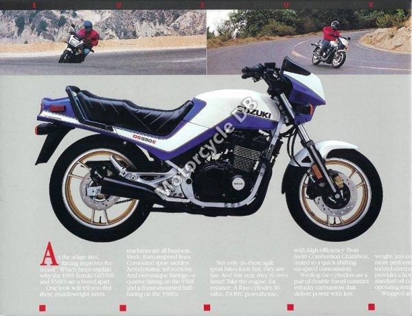 Suzuki GSX 550 ES 1985 10614
