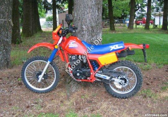 Honda XL 350 R 1987 8034