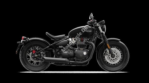 Triumph Bonneville Bobber Black 2018 24062