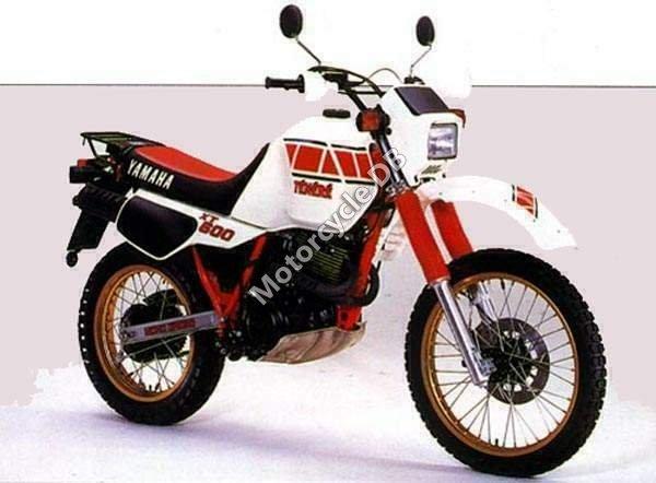 Yamaha XT 600 Tenere 1983 9773