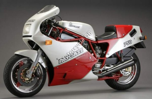 Ducati 750 Santa Monica 1988 13995