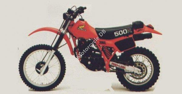 Honda XL 500 S 1981 8948