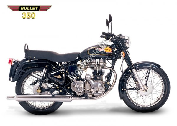 Enfield 350 Bullet De Luxe 1983 10362