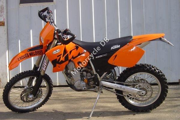 KTM 450 EXC Racing 2003 8887