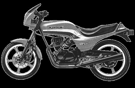 Kawasaki GPZ 305 Belt Drive 1988 16117