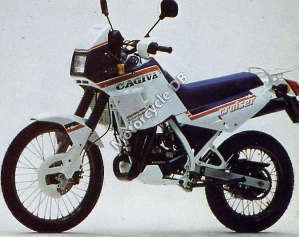 Cagiva 125 Cruiser 1990 19161