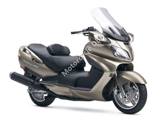 Suzuki Burgman 650 2008 2766