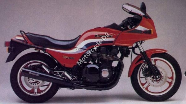 Kawasaki GPZ 1100 (reduced effect) 1983 15148