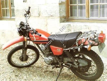 Kawasaki KL 250 1981 9690