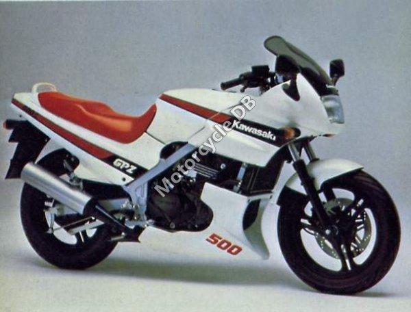Kawasaki GPZ 550 1987 7895