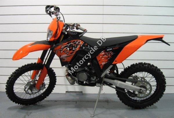 KTM 200 EXC 2008 17550