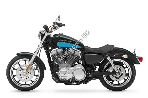 Harley-Davidson XL883L Sportster SuperLow 2012 22318