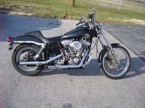 Harley-Davidson FXWG 1340 Wide Glide 1984 7420