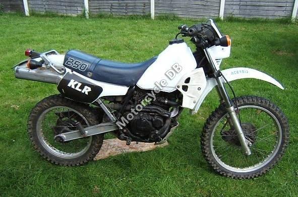 Kawasaki KLR 250 1984 14922