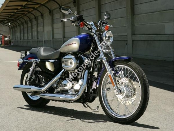 Harley-Davidson  XL1200C  Sportster Custom 2007 10861