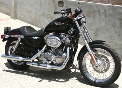 Harley-Davidson XLH Sportster 883 Hugger 1989 10210
