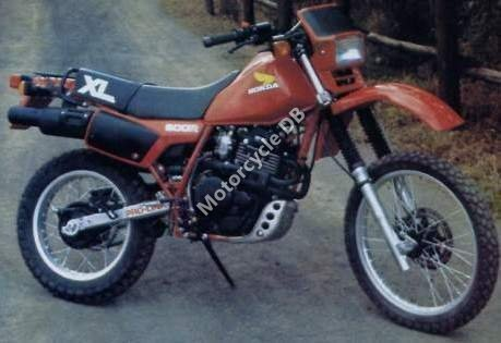 Honda XL 600 R (reduced effect) 1986 16831