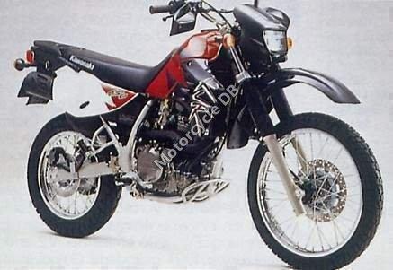 Kawasaki KLR 650 1999 1353