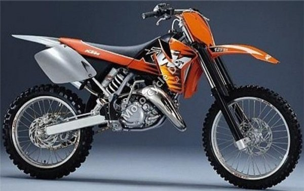 KTM SX 125 - 1999 Specifications, Pictures & Reviews