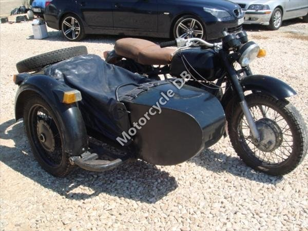 Dnepr MT 11 (with sidecar) 1990 11208 Thumb
