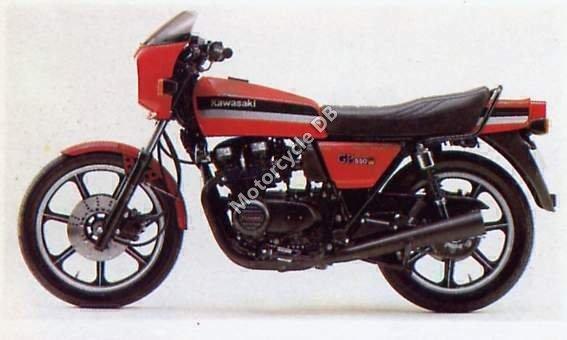 Kawasaki GPZ 550 1981 9731