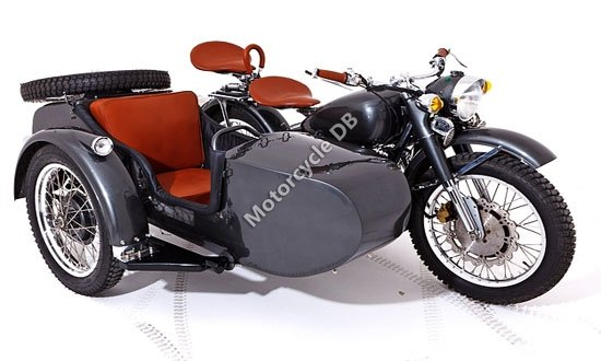 Chang-Jiang 750 FY (with sidecar) 1990 11458
