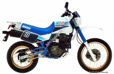 Suzuki DR 600 S (reduced effect) 1987 15139