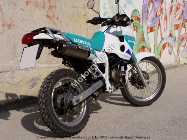 Honda NX 250 1992 8889
