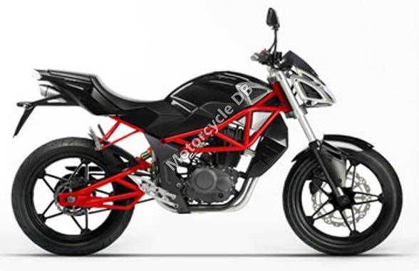 Megelli Naked Streetbike 125S 2010 11305