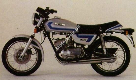 Benelli 125 Sport 1980 14548