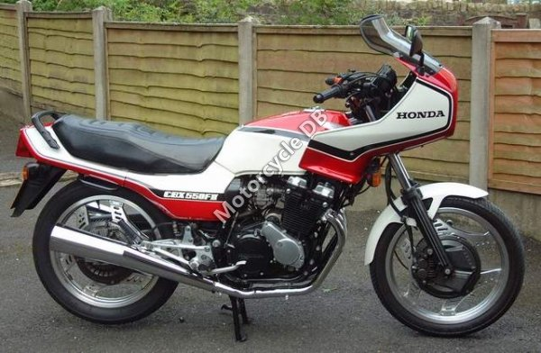 Honda CBX 550 F (reduced effect) 1984 19428