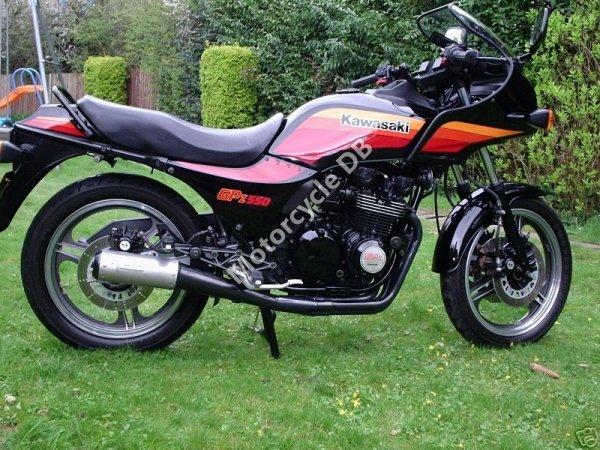 Kawasaki GPZ 550 1990 6728