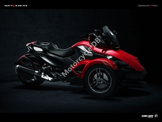 Can-Am Spyder Roadster SE5 2009 3437