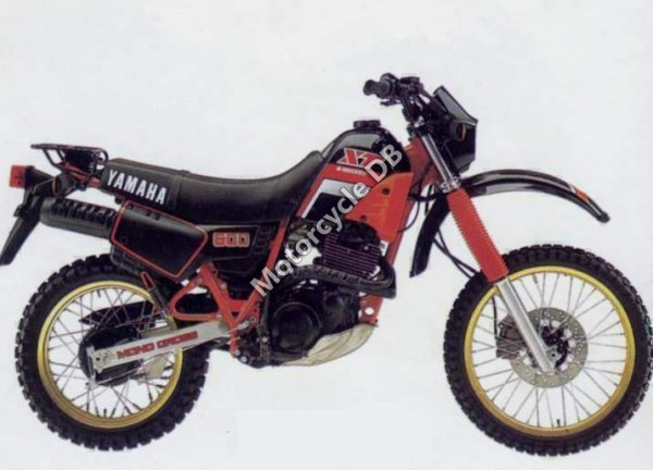 Yamaha XT 600 1986 4024