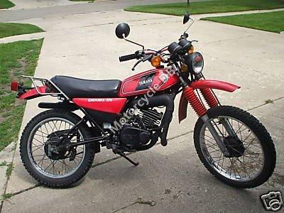 Yamaha DT 125 E 1980 7652