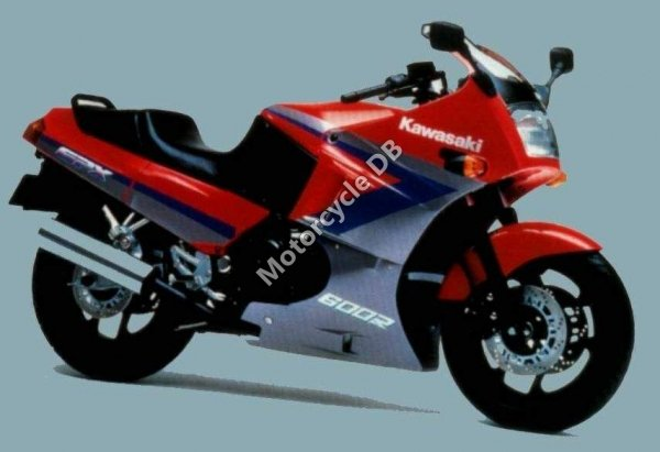 Kawasaki GPX 600 R 1989 16049