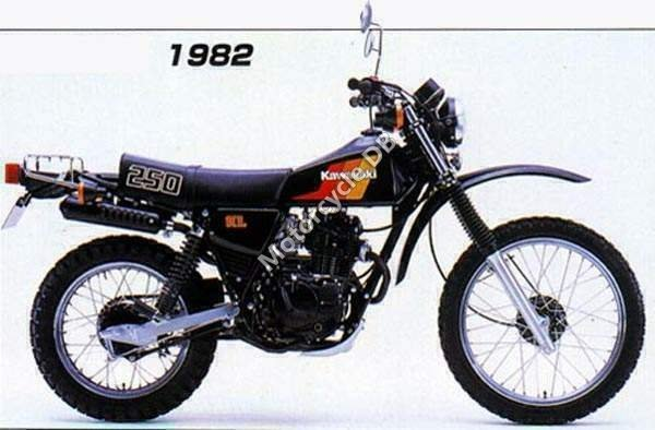 Kawasaki KL 250 1982 1345